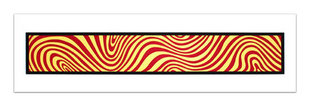 Sol LeWitt, 'Red and Yellow, from: Wavy Irregular Bands', 1996