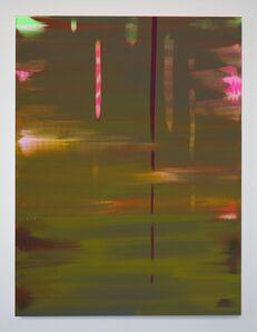 Wanda Koop, 'Reflect (Moss Green – Lily Pink)', 2018