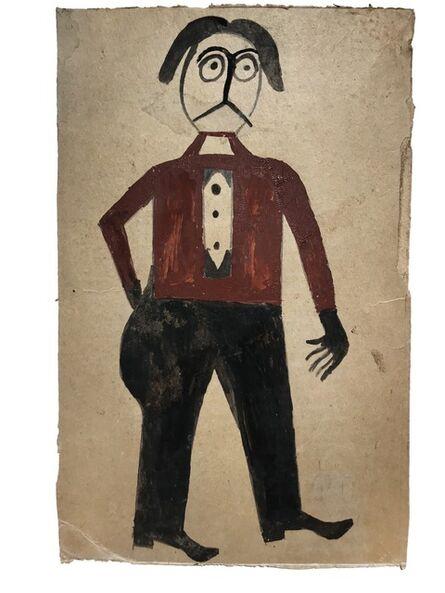 Bill Traylor, 'Mexican Man '