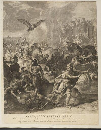 Charles Le Brun, '[Battle of Arbelles]', 1724