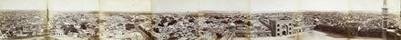Felice Beato, 'Panorama of Delhi taken from the Jamma Masjid.', 1858