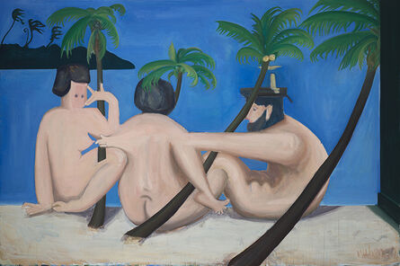Wu Chen 武晨, 'Untitled (The Relationship between Male Nude with Male Nude, Male Nude with Female Nude, and Female Nude with Male Nude)', 2016