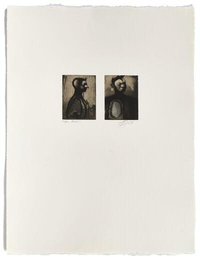 Louis-Pierre Bougie, 'Deux têtes', 2001