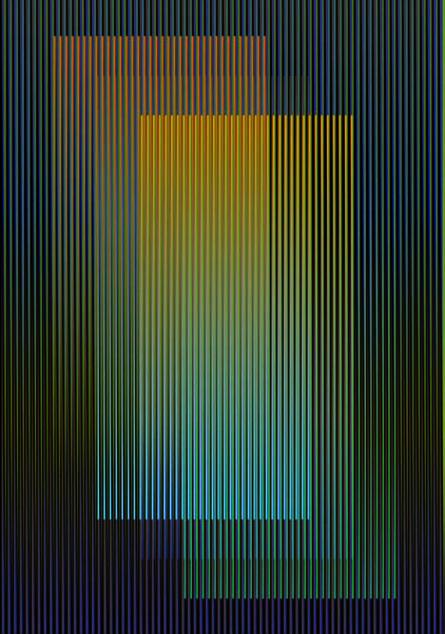 Carlos Cruz-Diez, 'Color Aditivo Rosmira', 2011