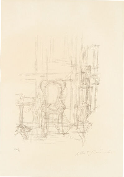 Alberto Giacometti, 'Chaise et guéridon (Chair and Guéridon)', 1960