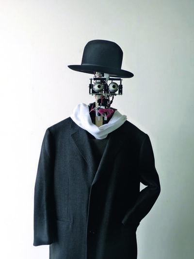 """Denis Vidal et Philippe Gaussier, 'Berenson, """"art lover"""" robot', 2011 -present"""