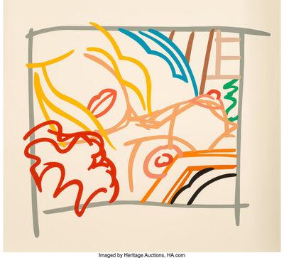 Tom Wesselmann, 'Bedroom Blonde Doodle with Photo', 1988