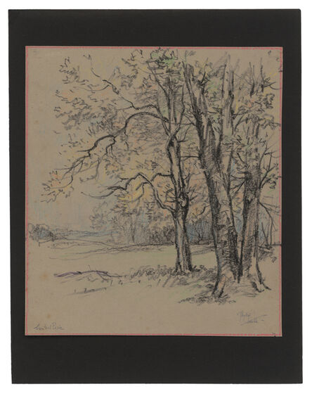 Jules Andre Smith, 'Trees in Central Park', ca. 1915