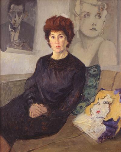 Raphael Soyer, 'Portrait of Maureen Stapleton', 1968