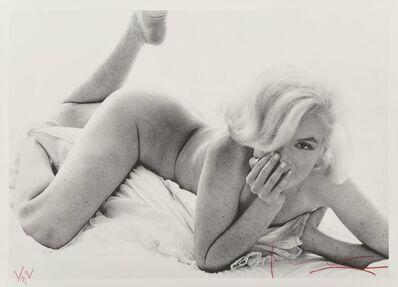 Bert Stern, 'Marilyn Monroe, from the Last Sitting', 1962