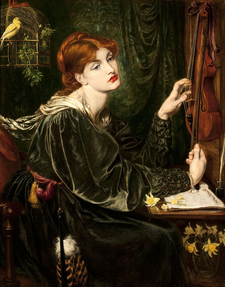 Dante Gabriel Rossetti, 'Veronica Veronese', 1872