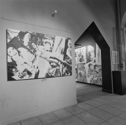 """Liliana Maresca, '""""Imagen Pública - Altas Esferas"""", Centro Cultural Recoleta, Buenos Aires, Argentina, 1993. Photographic record of the installation', 1993"""