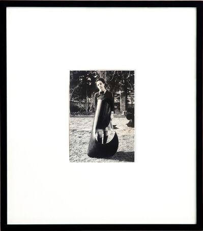 Ketty La Rocca, 'Photograph with comma', 1969-1970