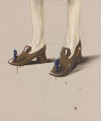 Marco Spitzar, 'Gelehrtenbeine, Diskrete Mathematik', 2013