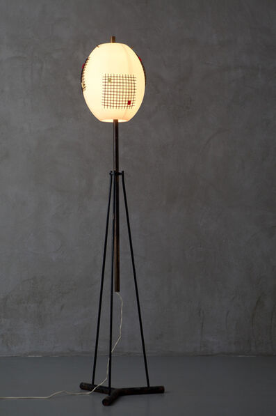 Angelo Lelli, 'mod. n°12626 floor lamp', 1950's