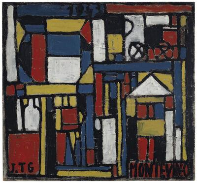 Joaquín Torres-García, 'Constructivo con formas estructuradas', 1943