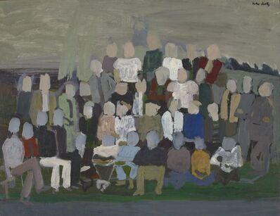 Alex Katz, 'Group Portrait 2', c. 1950