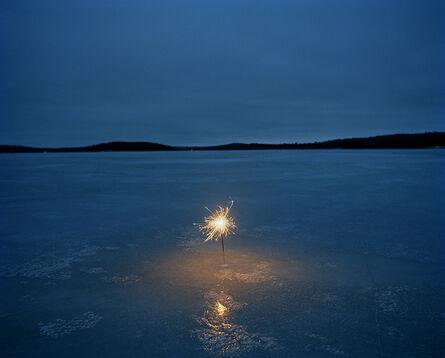 Adam Ekberg, 'A sparkler on a frozen lake', 2006