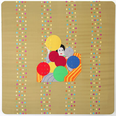 Raed Yassin, 'mama With Balloons', 2013