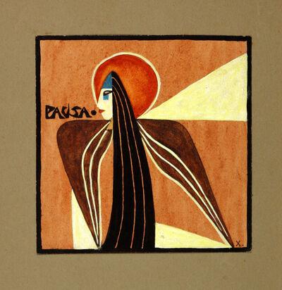 Xul Solar, 'Pausa / Pause', 1917