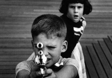 William Klein, 'Gun 3, New York', 1954