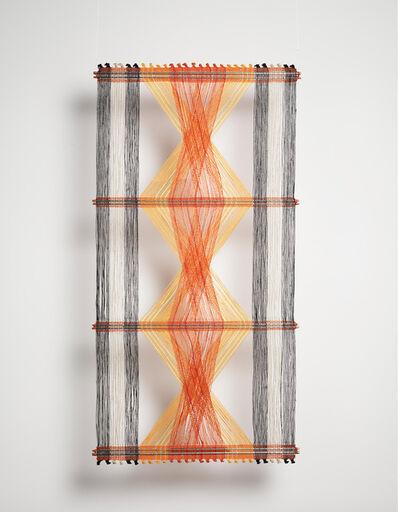 Peter Collingwood, 'Orange, Yellow and Black Macrogauze', ca. 1970