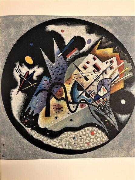 Wassily Kandinsky, 'Dans le cercle noir', 1960