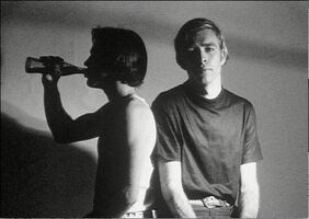 Andy Warhol, 'Andy Warhol, Screen Test of Archie and George with Coca Cola circa 1966', 1966