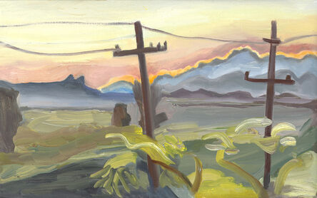 Martha Armstrong, 'Sunset Behind Storm Clouds', 2017