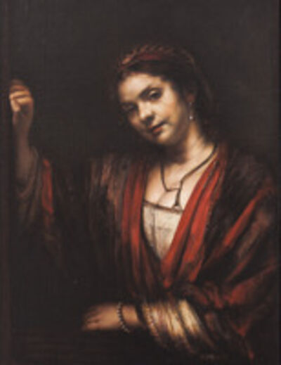 David Nipo, 'HendrickjeStoffels, copy of Rembrandt', 2011