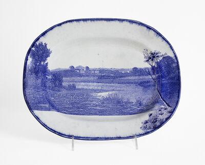 Paul Scott, 'Cumbrian Blue(s), New American Scenery, Hudson River Indian Point No: 5', 2017