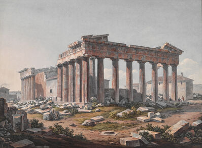 Various Artists, 'Parthenon from the Southeast', 1805