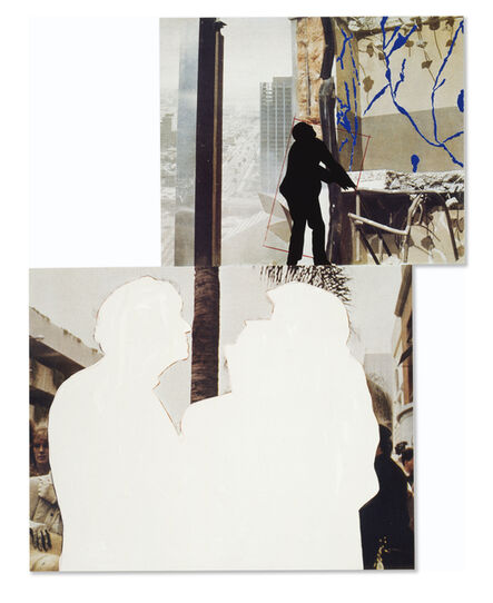 John Baldessari, 'One and Three Persons (with Two context-One Chaotic)', 1994
