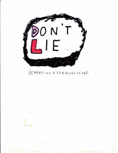 Jim Torok, 'Don't Lie', 2017