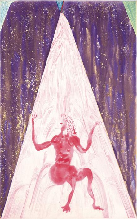 Chris Ofili, 'Rincon Falls-Red Light', 2008