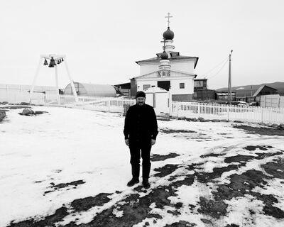 Matthew Webb, 'Leaving the city behind (Evgeniy, pastor, Olkhon Island)', 2013