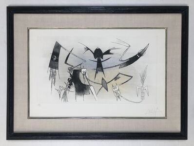Wifredo Lam, 'The Reunion', 1973