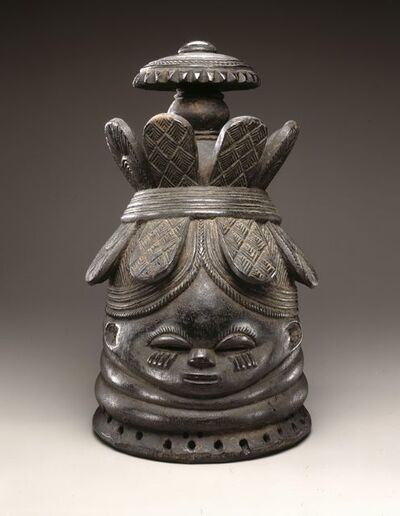 The Nguabu Master, 'Helmet Mask for Sande Society (Ndoli Jowei)', Late 19th-early 20th century