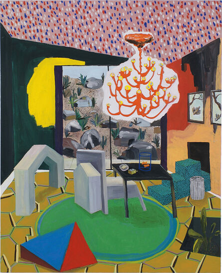 Shara Hughes, 'Enter Goldfish', 2007