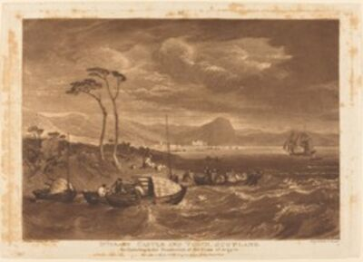 J. M. W. Turner, 'Inverary Castle and Town', 1816