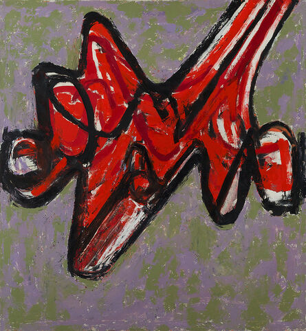 Raymond Hendler, 'The Red Claw (No. 12)', 1957
