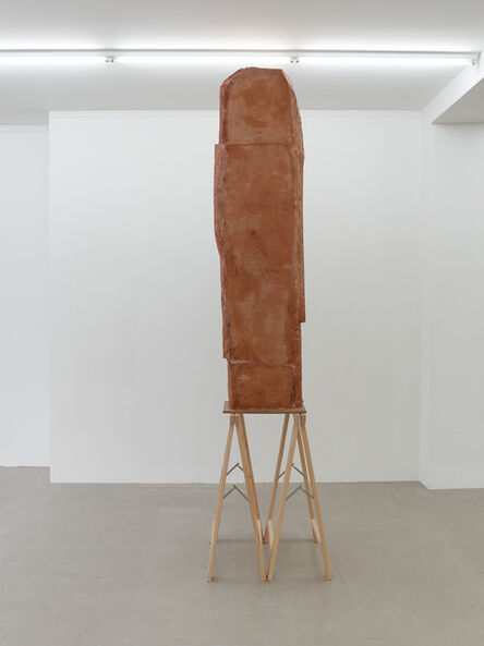 Esther Kläs, 'High (Beige)', 2017