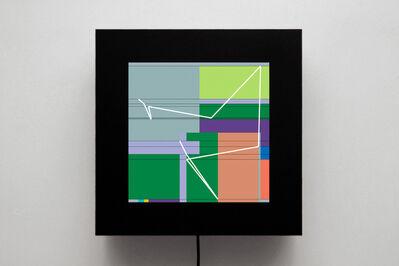 Manfred Mohr, 'P1622-D', 2012