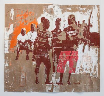 Armand Boua, 'Groupe de jeune n1', 2014