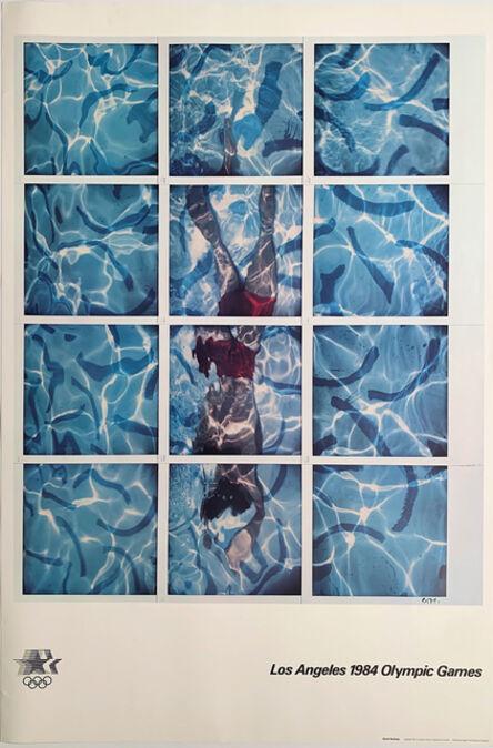 David Hockney, '1984 LA Olympics Poster', 1984