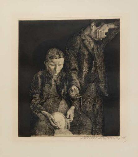 Käthe Kollwitz, 'Zertretene (Arme Familie)', 1900