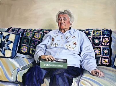 Yevgeniy Fiks, 'Portrait of Estelle Katz (Communist Party USA)', 2007