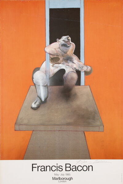 Francis Bacon, 'Figure in Movement (Hand signed)', 1985