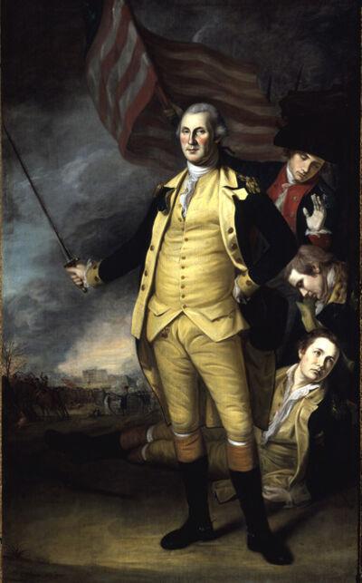 Charles Willson Peale, 'George Washington at the Battle of Princeton', 1783-1784