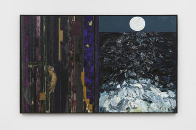 Joan Snyder, 'To Transcend/The Moon', 1985